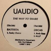 BATTISTA / DECAS - The way to share : 12inch