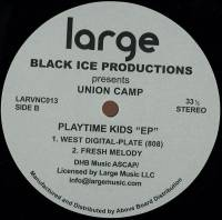 BLACK ICE PRODUCTIONS - Playtime Kids EP : 12inch
