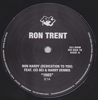 RON TRENT - Tribute To Ron Hardy : 12inch