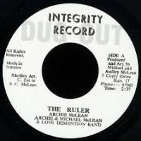 ARCHIE McLEAN - The Ruler : 7inch