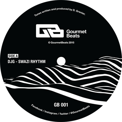 DJG - Swazi Rhythm EP : 12inch
