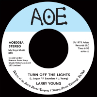 LARRY YOUNG - Turn Off The Lights : 7inch