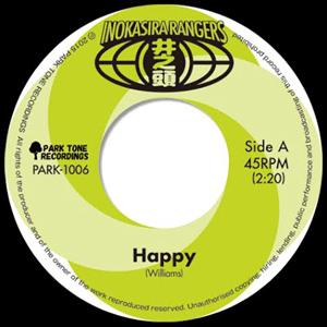井の頭レンジャーズ - Happy / One More Time : PARK TONE RECORDINGS (JPN)