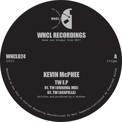 KEVIN MCPHEE - TW EP : WNCL (UK)