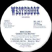 MIKE DUNN - Dance You Mutha : 12inch