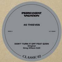40 THIEVES feat. QZEN - Permanent Vacation Classic Vol.2 : PERMANENT VACATION (GER)