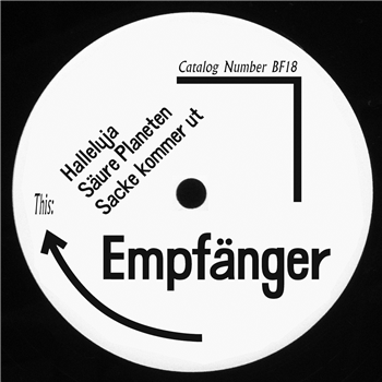 EMPFANGER - Lost Track : 12inch