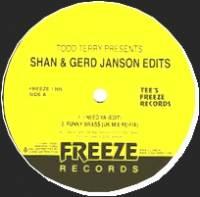 TODD TERRY - TODD TERRY Presents: SHAN & GERD JANSON EDITS : 12inch