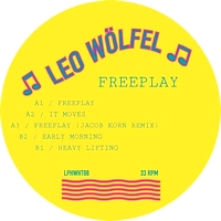 LEO WOLFEL - Freeplay : 12inch