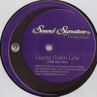 THEO PARRISH - Lights Down Low : 12inch