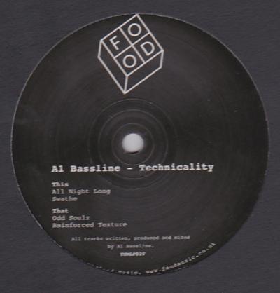 A1 BASSLINE - Technicality : 12inch