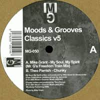 THEO PARRISH / MIKE GRANT - Moods & Grooves Classics v5 : MOODS & GROOVES (US)
