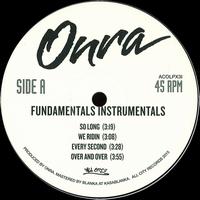 ONRA - Fundamentals Instrumentals : ALL CITY DUBLIN (IRE)