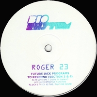ROGER 23 - Future Jack Programs To Respond(Section 3 & 4) : 12inch