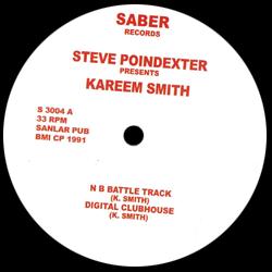 STEVE POINDEXTER Presents KAREEM SMITH - N B BATTLE TRACK : 12inch