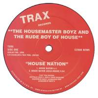 THE HOUSEMASTER BOYZ AND THE RUDE BOY OF HOUSE - House Nation : 12inch
