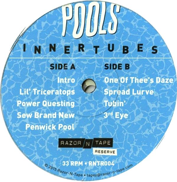 POOLS - Innertubes : 2LP