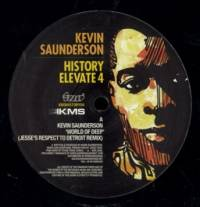 KEVIN SAUNDERSON - History Elevate 4 : 12inch