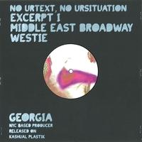 GEORGIA - No Urtext, No Ursituation : 10inch