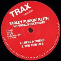 FARLEY FUNKIN' KEITH - NO VOCALS NECESSARY : 2x12inch