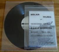 JOE JONES - Solar Music At Sierksdorf, Ostsee : LP