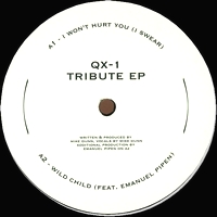 QX-1 (Mike Dunn) - Tribute EP (On A Journey / Love Injection) : 12inch