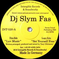 DJ SLYM FAS - Luv Music : INTANGIBLE RECORDS & SOUNDWORKS (US)