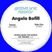 ANGELA BOFILL - People Make The World Go 'Round / Under The Moon And Over The Sky : 12inch