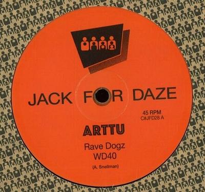 ARTTU - Rave Dogz : CLONE JACK FOR DAZE (HOL)