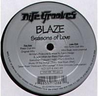 BLAZE - Seasons Of Love : 12inch