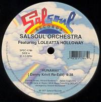 THE SALSOUL ORCHESTRA - Runaway / Salsoul Rainbow (Danny Krivit Re-Edits) : 12inch