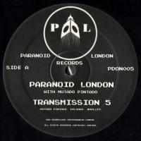 PARANOID LONDON - Transmission 5 : 12inch