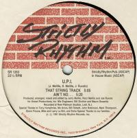 U.P.I. - That String Track : STRICTLY RHYTHM (US)