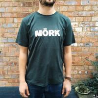 MORK TEE - MORK LOGO T-Shirts  - DARK GREY Men's / M-Size : MORK (UK)