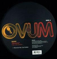 MANIK - Recourse Feat Cari Golden : OVUM (US)