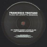 FRANCESCO TRISTANO - Place On Lafayette (Remixes) : 12inch