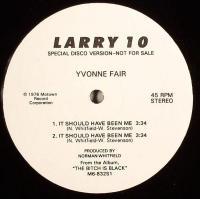 YVONNE FAIR / NAPOLEON XIV - It Should Have Been Me / Ha Ha : 12inch