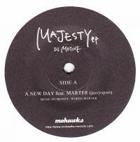 DJ MOTIVE - Majesty EP : 7inch
