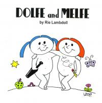 RIE LAMBDOLL - DOLFE and MELFE : BOOK + MIX CD + STICKER