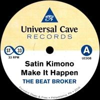 THE BEAT BROKER - Satin Kimono : UNIVERSAL CAVE (US)