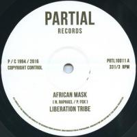 LIBERATION TRIBE / PAUL FOX - African Mask / Writing on the Wall : 10inch