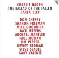 CHARLIE HADEN - The Ballad Of The Fallen : ECM (GER)