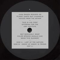 JUAN RAMOS - Last Of The Natives B/W Enemy Of Enemy Is Friend : 12inch