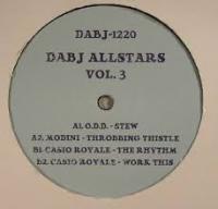 VARIOUS - DABJ Allstars Vol.3 : DIXON AVENUE BASEMENT JAMS (UK)