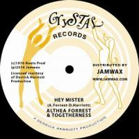 ALTHEA FORREST & TOGETHERNESS - Hey Mister : 12inch