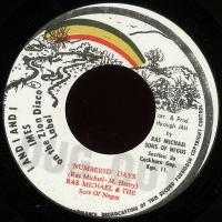 RAS MICHAEL & THE SONS OF NEGUS - Numbered Days : 7inch