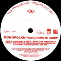 MONOPOLAN - Coughing Is Good : 12inch