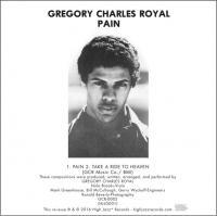 GREGORY CHARLES ROYAL - Pain / Take A Ride To Heaven : HIGH JAZZ* (SWI)