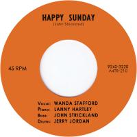 WANDA STAFFORD - Happy Sunday / Blue Guitar : 7inch