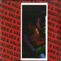 VARIOUS ARTISTS - Friends & Values : 12inch+7inch